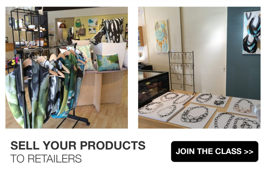 Sell Your Products to Retailers: wholesale business strategy for designers and makers