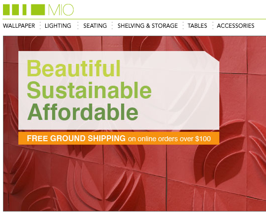 MIO - beautiful, sustainable, affordable